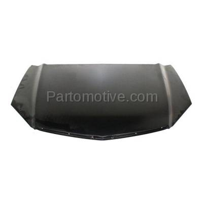 Aftermarket Replacement - HDD-1006 2007-2009 Acura RDX 2.3L Front Hood Panel Assembly Primed Steel - Image 1