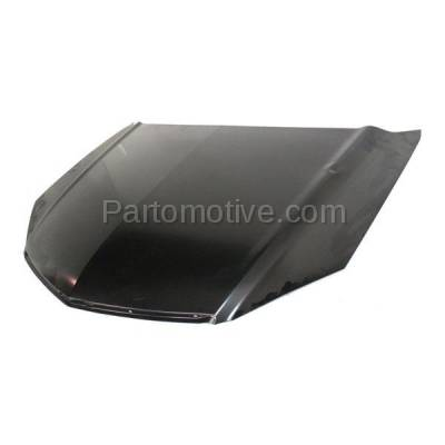 Aftermarket Replacement - HDD-1006 2007-2009 Acura RDX 2.3L Front Hood Panel Assembly Primed Steel - Image 2
