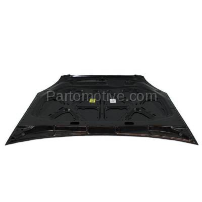 Aftermarket Replacement - HDD-1441 2006-2008 Kia Optima & Magentis (EX, Luxury, LX, LX Premium) Sedan 4-Door (2.4 & 2.7 Liter Engine) Front Hood Panel Assembly Primed Steel - Image 3
