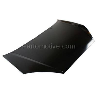 Aftermarket Replacement - HDD-1165 2000-2004 Ford Focus (Hatchback, Sedan, Wagon) 2.0L & 2.3L Front Hood Panel Assembly Primed Steel - Image 2