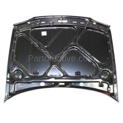 Aftermarket Replacement - HDD-1738 1993-1999 Volkswagen Golf & 1995-1999 VW Cabrio (Convertible & Hatchback) Front Hood Panel Assembly Primed Steel - Image 3