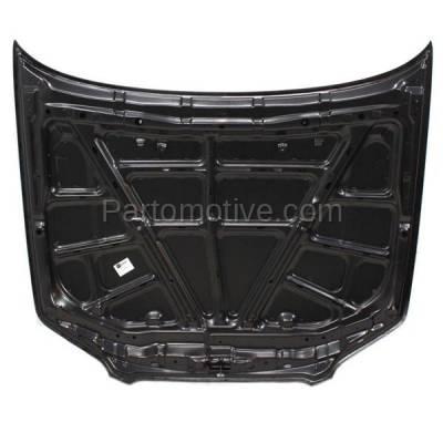 Aftermarket Replacement - HDD-1561 2000-2003 Nissan Maxima (GLE, GXE, SE) Sedan 4-Door (3.0 & 3.5 Liter V6 Engine) Front Hood Panel Assembly Primed Steel - Image 2