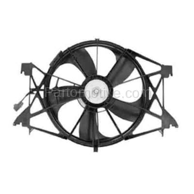 TYC - FMA-1511TY TYC Ram Pickup (Exclude Megacab) Radiator A/C Condenser Cooling Fan Motor Assy - Image 2