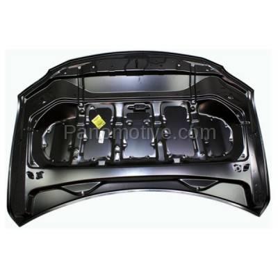 Aftermarket Replacement - HDD-1463 2010-2015 Lexus RX350 & RX450h (Base, F Sport, Sportdesign) 3.5 Liter V6 Engine Front Hood Panel Assembly Primed Steel - Image 3