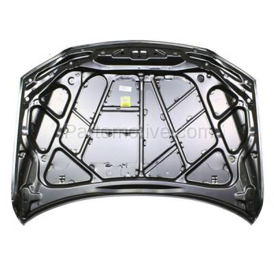 Aftermarket Replacement - HDD-1481 2003-2008 Mazda 6 (GS, GT, i, S) Hatchback & Sedan & Wagon (2.3 & 3.0 Liter Engine) (Non-Turbo) Front Hood Panel Assembly Primed Steel - Image 3
