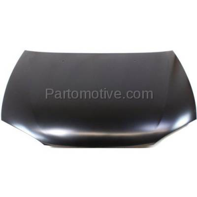 Aftermarket Replacement - HDD-1531 1997-2002 Mitsubishi Mirage (DE, LS) Coupe 2-Door (1.5 & 1.8 Liter Engine) Front Hood Panel Assembly Primed Steel - Image 1
