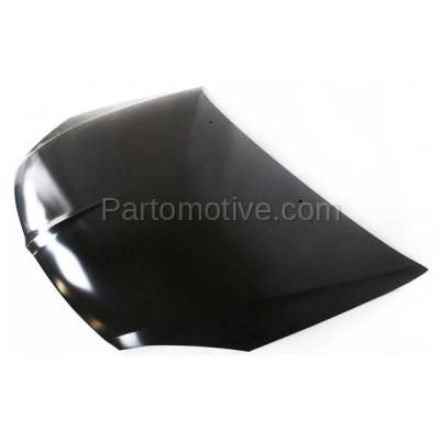 Aftermarket Replacement - HDD-1541 2004-2005 Mitsubishi Lancer (ES, LS, OZ Rally, Ralliart, Sportback) 2.0 & 2.4 Liter (Sedan & Wagon) Front Hood Panel Assembly Primed Steel - Image 2