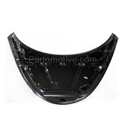 Aftermarket Replacement - HDD-1085 1999-2004 Chrysler 300 (Base, Special, Pro-Am) Sedan 4-Door 3.5L Front Hood Panel Assembly Primed Steel - Image 3