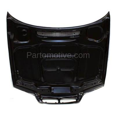 Aftermarket Replacement - HDD-1047 2000-2003 BMW 3-Series 323Ci/323i/323is/325Ci/328Ci/328i/328is/330Ci (Convertible & Coupe 2-Door) E46 Front Hood Panel Assembly Primed Steel - Image 3