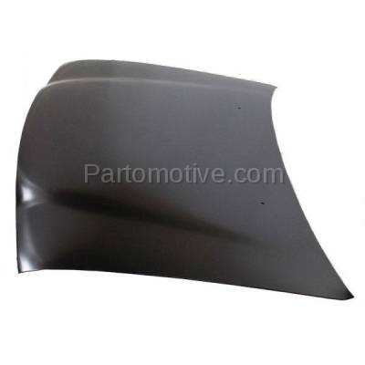 Aftermarket Replacement - HDD-1648 1999-2004 Chevrolet Tracker (Base, Delux, LSi, LT, Lux, ZR2) 1.6 & 2.0 & 2.5 Liter Engine Front Hood Panel Assembly Primed Steel - Image 2