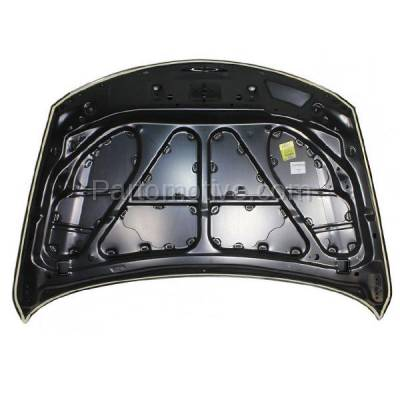 Aftermarket Replacement - HDD-1488 2007-2015 Mazda CX-9 (Grand Touring, GS, GT, Sport, Touring) Sport Utility 4-Door (3.5 & 3.7 Liter V6 Engine) Front Hood Panel Assembly Primed Steel - Image 3
