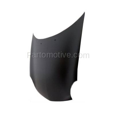Aftermarket Replacement - HDD-1080 2001-2005 Dodge/Plymouth Neon (ACR, ES, High Line, LX, R/T, SE, SXT) & 2003-2005 SX 2.0 (Sedan 4-Door) 2.0L Front Hood Panel Assembly Primed Steel - Image 2