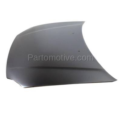 Aftermarket Replacement - HDD-1333 1993-1997 Honda Civic del Sol (S, Si, VTEC) Coupe 2-Door (1.5 & 1.6 Liter Engine) Front Hood Panel Assembly Primed Steel - Image 2