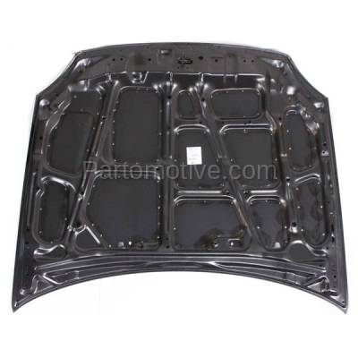 Aftermarket Replacement - HDD-1333 1993-1997 Honda Civic del Sol (S, Si, VTEC) Coupe 2-Door (1.5 & 1.6 Liter Engine) Front Hood Panel Assembly Primed Steel - Image 3