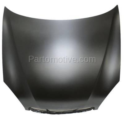 Aftermarket Replacement - HDD-1140 2000-2002 Daewoo Nubira (CDX, SE) Sedan & Wagon 2.0L Front Hood Panel Assembly Primed Steel - Image 1