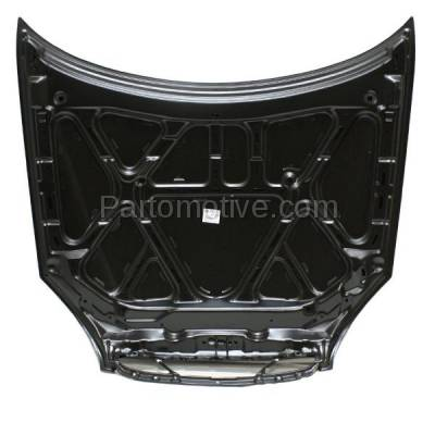 Aftermarket Replacement - HDD-1140 2000-2002 Daewoo Nubira (CDX, SE) Sedan & Wagon 2.0L Front Hood Panel Assembly Primed Steel - Image 3