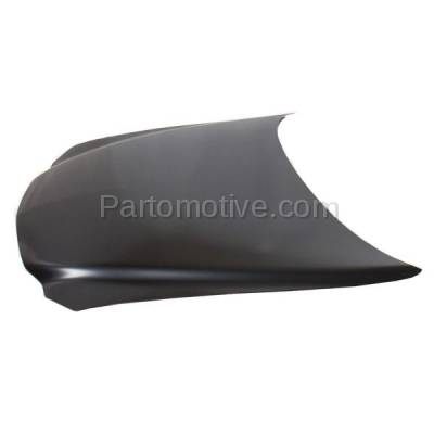 Aftermarket Replacement - HDD-1230 1999-2005 Pontiac Grand Am (GT, GT1, SE, SE1, SE2) Coupe & Sedan (without Ram Air Package) Front Hood Panel Assembly Primed Steel - Image 2