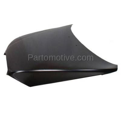 Aftermarket Replacement - HDD-1389 2001-2003 Hyundai Elantra (GLS, GT) 2.0 Liter Engine (Hatchback & Sedan) Front Hood Panel Assembly Primed Steel - Image 2