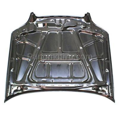 Aftermarket Replacement - HDD-1621 2003-2006 Subaru Baja Crew Cab Pickup Truck & 2000-2004 Legacy, Outback (Sedan & Wagon 4-Door) Front Hood Panel Assembly Primed Steel - Image 3