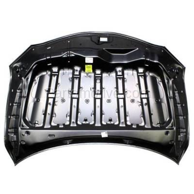 Aftermarket Replacement - HDD-1699 2007-2011 Toyota Camry (Base, CE, Hybrid, LE, SE, XLE) Sedan 4-Door (2.4 & 2.5 & 3.5 Liter Engine) Front Hood Panel Assembly Primed Steel - Image 3