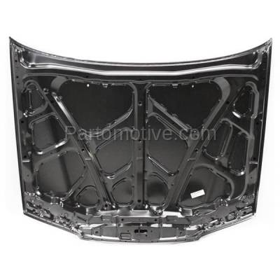 Aftermarket Replacement - HDD-1329 1994-1995 Honda Accord (DX, EX, LX) Coupe & Sedan & Wagon (2.2 Liter 4-Cylinder Engine) Front Hood Panel Assembly Primed Steel - Image 3