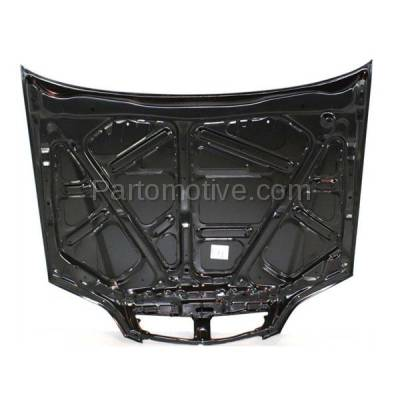 Aftermarket Replacement - HDD-1002 1999-2000 Acura TL (Base Sedan 4-Door) 3.2L Front Hood Panel Assembly Primed Steel - Image 3