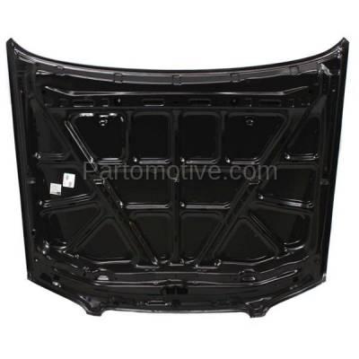 Aftermarket Replacement - HDD-1560 1998-2001 Nissan Altima (GLE, GXE, SE, XE) Sedan 4-Door (2.4 Liter Engine) Front Hood Panel Assembly Primed Steel - Image 3