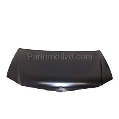 Aftermarket Replacement - HDD-1096 2004 2005 2006 Chrysler Pacifica (Base, Limited, Touring) Sport Utility 4-Door V6 Front Hood Panel Assembly Primed Steel - Image 1
