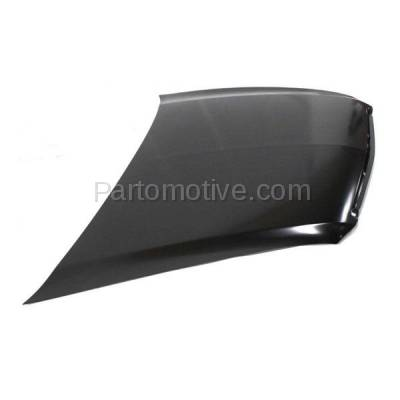 Aftermarket Replacement - HDD-1004 2004-2008 Acura TL (Sedan 4-Door) Front Hood Panel Assembly Primed Steel - Image 2