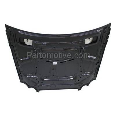 Aftermarket Replacement - HDD-1510 2003-2009 Mercedes-Benz CLK-Class CLK320/CLK350/CLK500/CLK550/CLK55 & CLK63 AMG (Coupe & Convertible) Front Hood Panel Assembly Primed Steel - Image 3