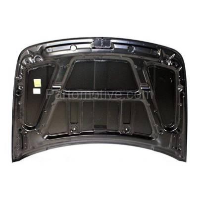 Aftermarket Replacement - HDD-1106 2007-2011 Dodge Nitro (Detonator, Heat, R/T, SE, Shock, SLT, SXT) Sport Utility 4-Door Front Hood Panel Assembly Primed Steel - Image 3
