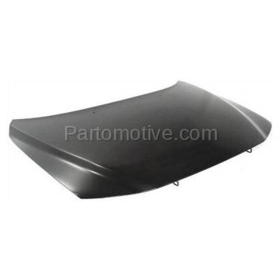 Aftermarket Replacement - HDD-1729 2001-2009 Volvo S60 & 2001-2007 V70 & 2003-2007 XC70 (Sedan & Wagon 4-Door) Front Hood Panel Assembly Primed Steel - Image 2