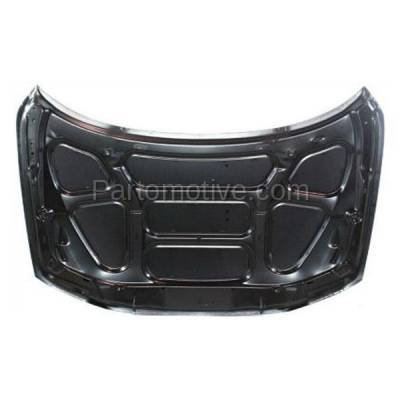 Aftermarket Replacement - HDD-1729 2001-2009 Volvo S60 & 2001-2007 V70 & 2003-2007 XC70 (Sedan & Wagon 4-Door) Front Hood Panel Assembly Primed Steel - Image 3
