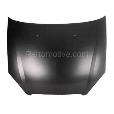 Aftermarket Replacement - HDD-1166 2000-2007 Ford Taurus (LX, SE, SE Comfort, SEL, SES, SVG) Sedan & Wagon 3.0L Front Hood Panel Assembly Primed Steel - Image 1