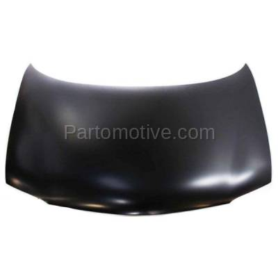 Aftermarket Replacement - HDD-1227 1997-2004 Chevy Venture & Oldsmobile Silhouette & 1999-2004 Pontiac Montana & 1997-1999 Trans Sport Front Hood Panel Assembly Primed Steel - Image 1