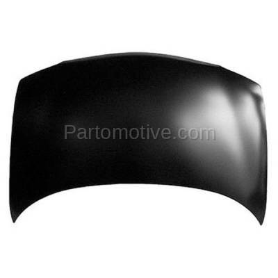 Aftermarket Replacement - HDD-1227 1997-2004 Chevy Venture & Oldsmobile Silhouette & 1999-2004 Pontiac Montana & 1997-1999 Trans Sport Front Hood Panel Assembly Primed Steel - Image 2