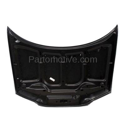 Aftermarket Replacement - HDD-1077 1995- 2000 Chrysler Cirrus & Dodge Stratus & Plymouth Breeze (Sedan 4-Door) Front Hood Panel Assembly Primed Steel - Image 3