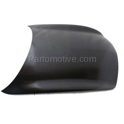 Aftermarket Replacement - HDD-1422 2007-2013 Infiniti G25/G35/G37 & 2015 Q40 (Base, Journey, Sport, X) (4-Door Sedan) Front Hood Panel Assembly Primed Steel - Image 2