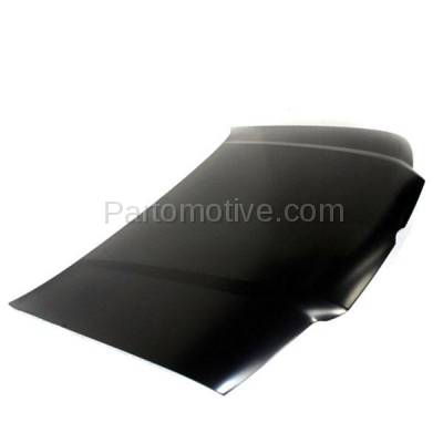 Aftermarket Replacement - HDD-1742 1999-2005 Volkswagen VW Jetta (2.5, GL, GLI, GLS, GLX, TDI, Wolfsburg Edition) (4th Generation) Front Hood Panel Assembly Primed Steel - Image 2
