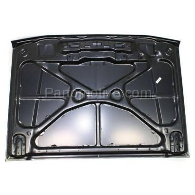 Aftermarket Replacement - HDD-1005 2004-2005 Acura TSX (Sedan 4-Door) 2.4L Front Hood Panel Assembly Primed Steel - Image 3