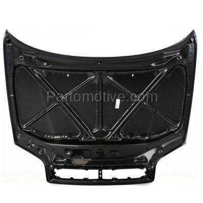 Aftermarket Replacement - HDD-1670 1996-2000 Toyota RAV4 (Sport Utility 2-Door) (2.0 Liter Engine) Front Hood Panel Assembly Primed Steel with Grille Provision - Image 3