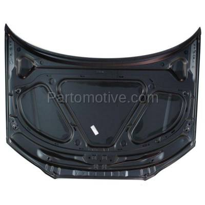 Aftermarket Replacement - HDD-1025 2006-2008 Audi A3 & A3 Quattro (Hatchback 4-Door) Front Hood Panel Assembly Primed Steel - Image 3