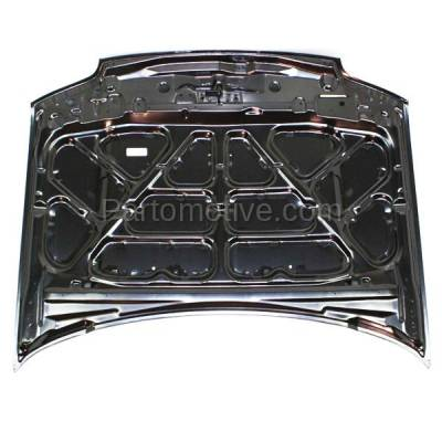 Aftermarket Replacement - HDD-1174 2001-2007 Ford Escape & 2005-2007 Mercury Mariner (2.0 & 2.3 & 3.0 Liter Engine) Front Hood Panel Assembly Primed Steel - Image 3