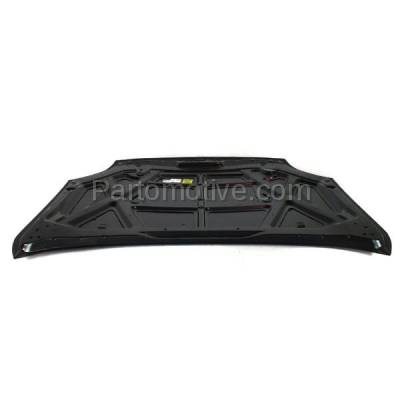 Aftermarket Replacement - HDD-1192 2006-2009 Ford Fusion (S, SE, SEL) Sedan 4-Door (2.3 & 3.0 Liter Engine) Front Hood Panel Assembly Primed Steel - Image 3