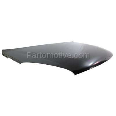 Aftermarket Replacement - HDD-1252 2002-2007 Buick Rendezvous (CX, CX Plus, CXL, CXL Plus, Ultra) (Sport Utility 4-Door) Front Hood Panel Assembly Primed Steel - Image 2