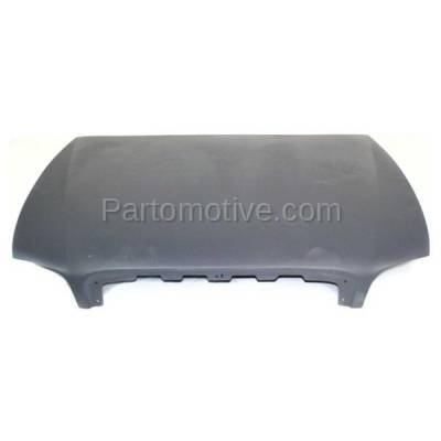 Aftermarket Replacement - HDD-1254 1997-2005 Buick Park Avenue (Ultra Sedan 4-Door) 3.8 Liter V6 Engine (without Ornament Hole) Front Hood Panel Assembly Gelcoat Fiberglass - Image 1