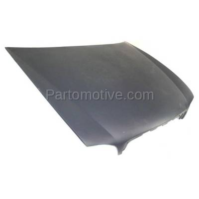 Aftermarket Replacement - HDD-1254 1997-2005 Buick Park Avenue (Ultra Sedan 4-Door) 3.8 Liter V6 Engine (without Ornament Hole) Front Hood Panel Assembly Gelcoat Fiberglass - Image 2