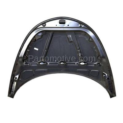 Aftermarket Replacement - HDD-1089 2001-2010 Chrysler PT Cruiser (Base, Classic, Couture, GT, Limited, LX, Touring) 2.4L (Convertible & Wagon) Front Hood Panel Assembly Primed Steel - Image 3