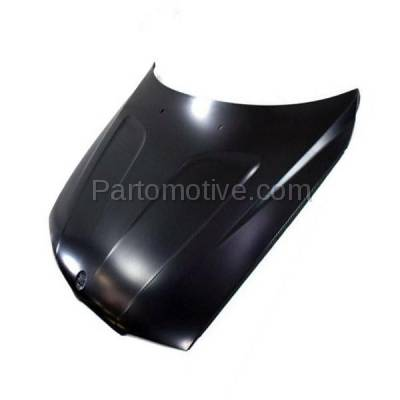 Aftermarket Replacement - HDD-1053 2004-2010 BMW X3 (2.5i, 3.0i, 3.0si, xDrive28i, xDrive30i) E83 Front Hood Panel Assembly Primed Steel - Image 2