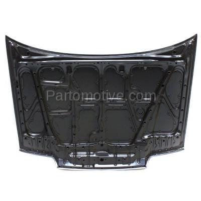 Aftermarket Replacement - HDD-1327 1988-1991 1991 Honda Civic (DX, EX, LX) Sedan 4-Door (1.5 & 1.6 Liter Engine) Front Hood Panel Assembly Primed Steel - Image 3